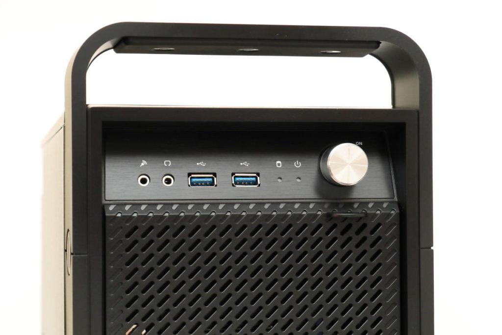 DAIV デスクトップ 正面 電源