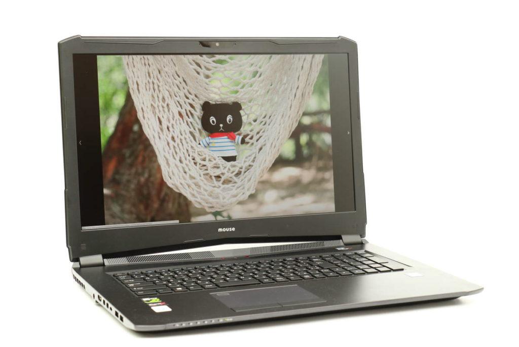 マウスコンピューター ノートパソコン DAIV NG7510 ディスプレイにコーベアー