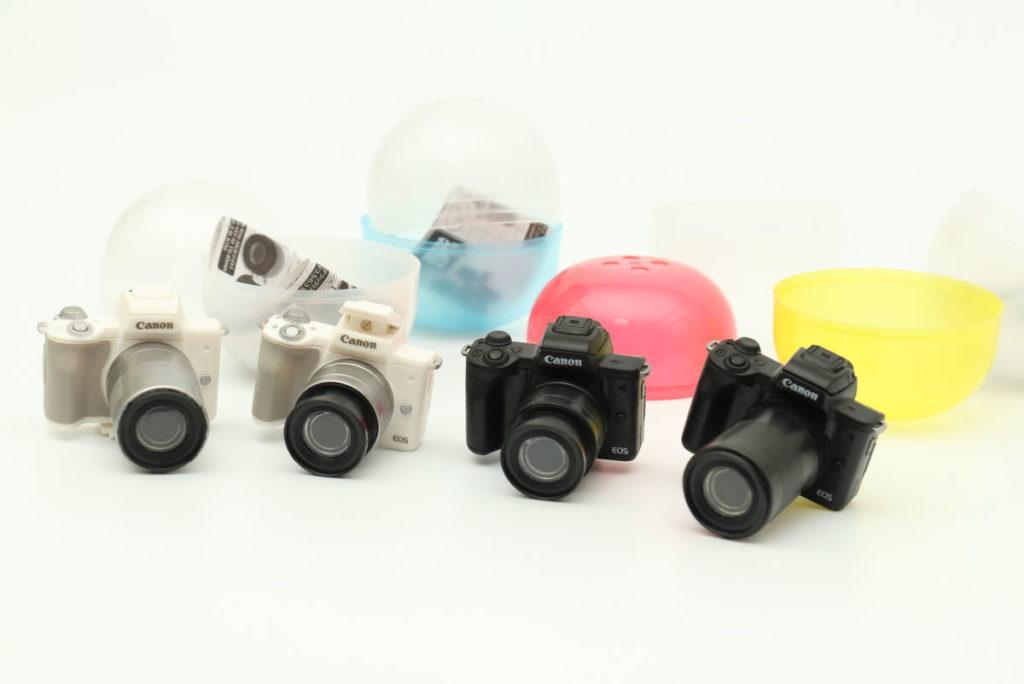 「Canon EOS Kiss M フラッシュ&サウンド ミニコレクション」の全4種セット
