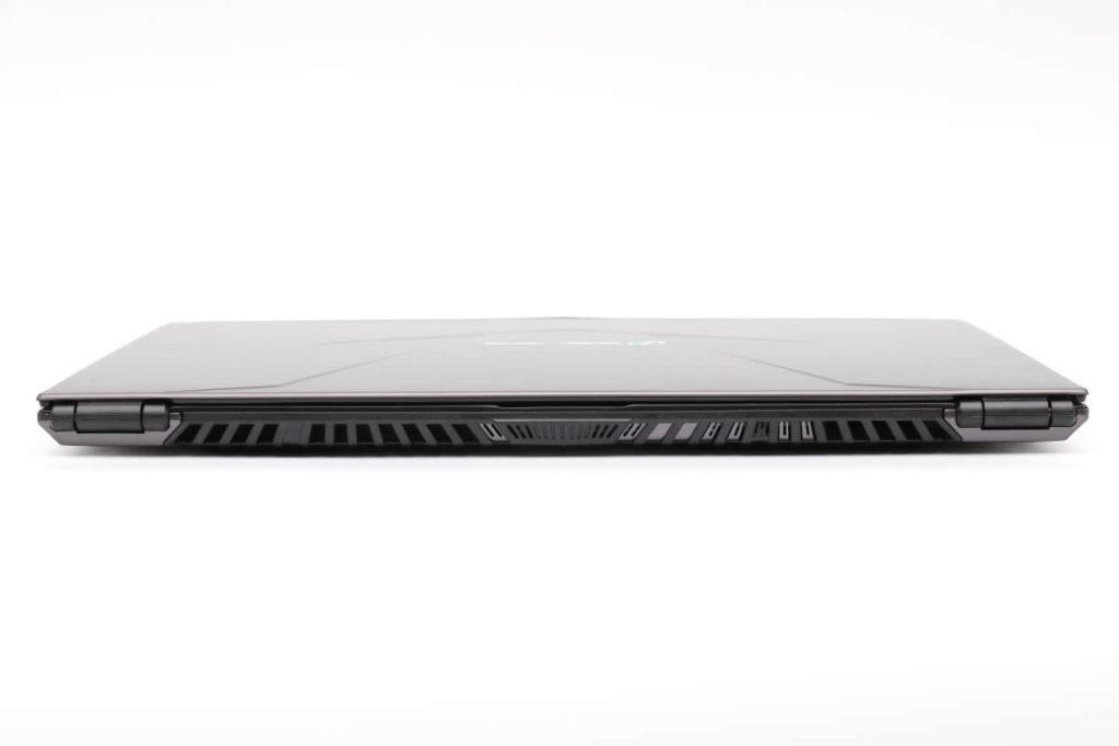 iiyama SENSE-15QX094-i7-RNRVI-DevelopRAWの背面