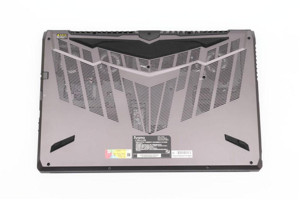 iiyama SENSE-15QX094-i7-RNRVI-DevelopRAWの裏面