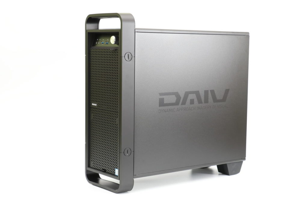 DAIVデスクトップパソコン 外観