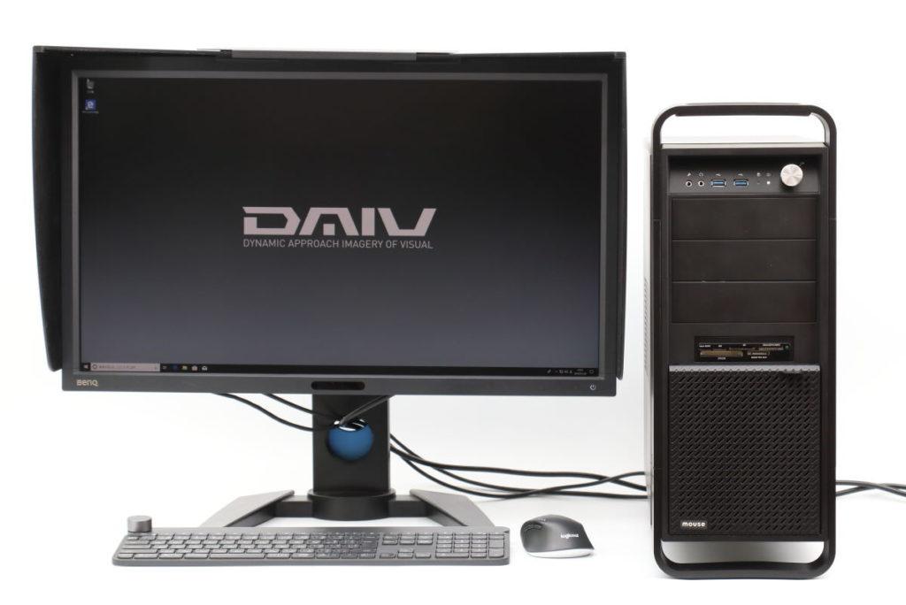 DAIVのデスクトップ画面