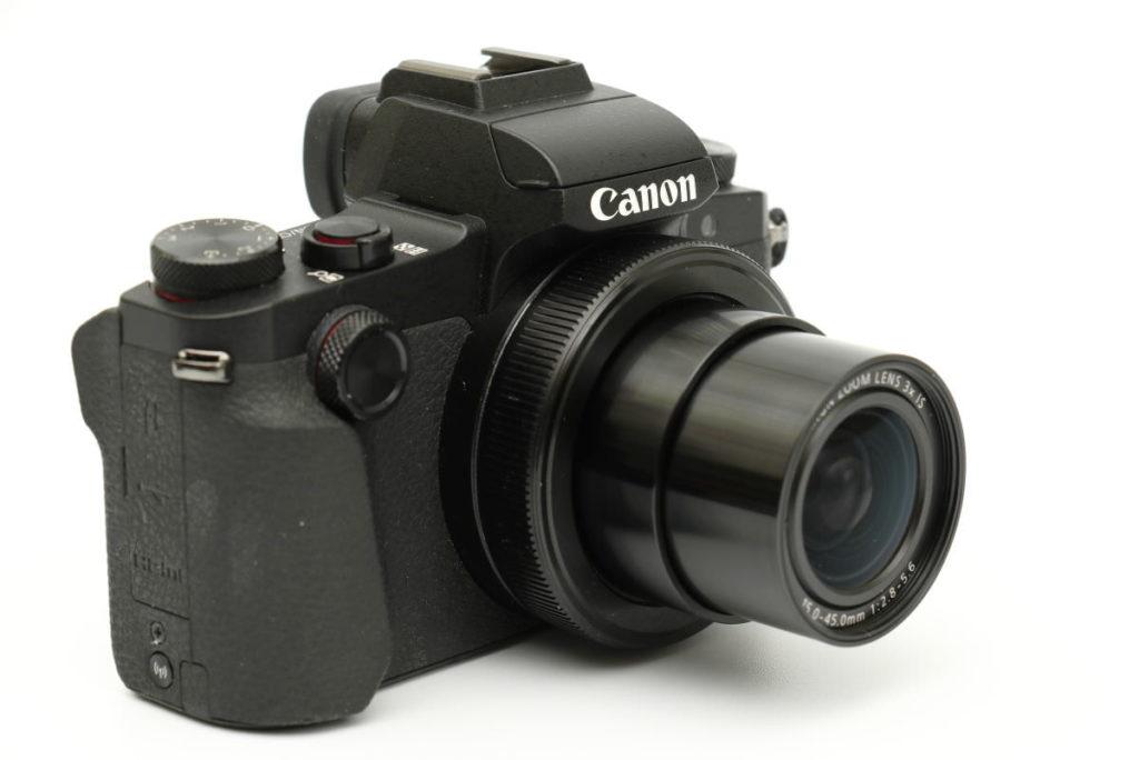 Powershot G1X MarkⅢ 沈胴式レンズ