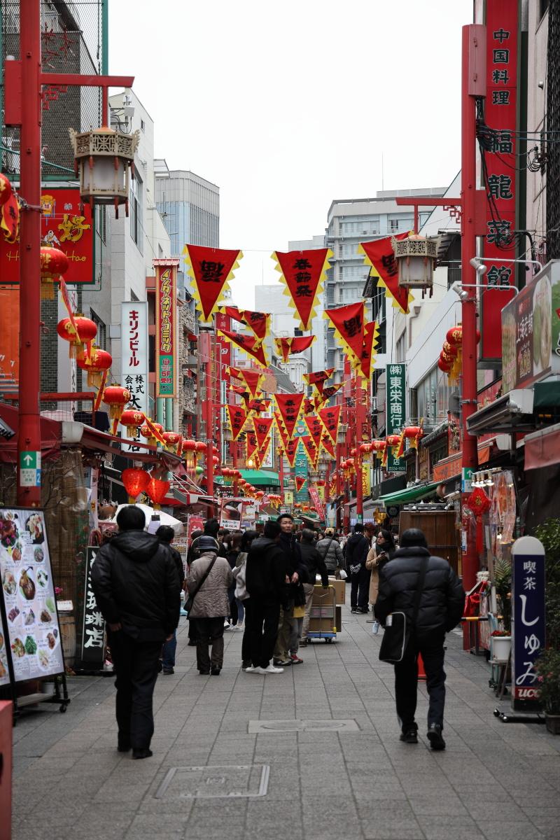 南京町 春節祭 2019年2月9日