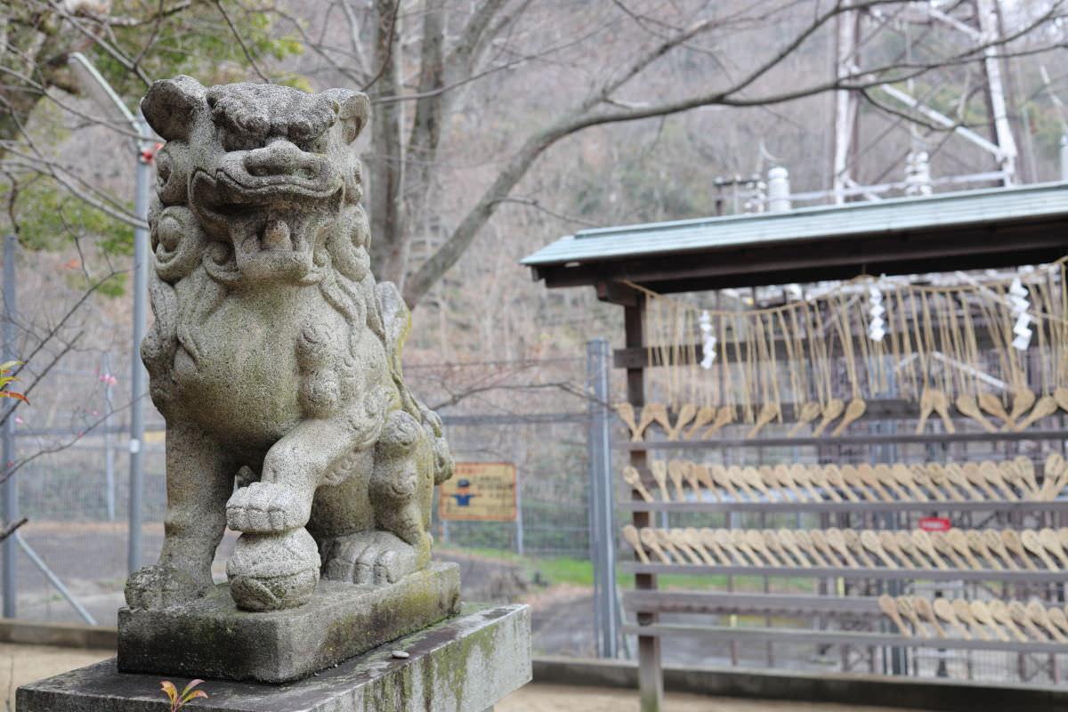 岡本 八幡神社 狛犬