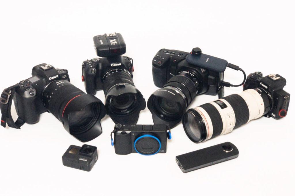 物欲の果てに得たカメラたち