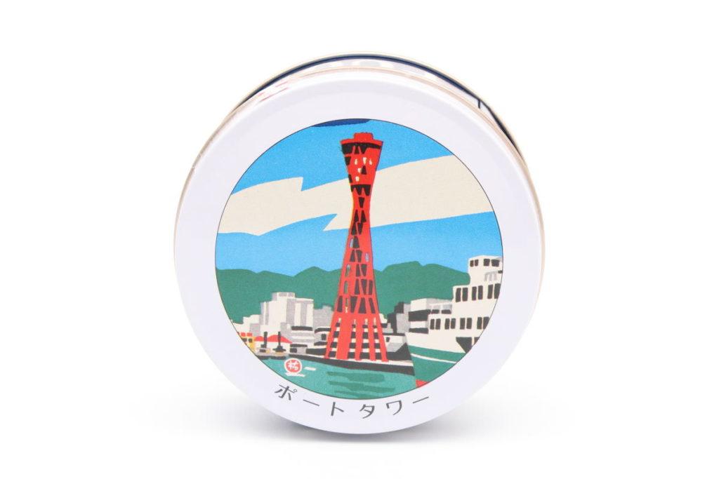神戸六景ミニゴーフルのパッケージ
