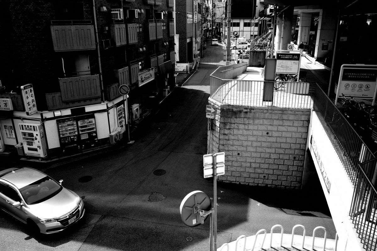 リコーGR3 ハイコントラスト白黒 作例写真