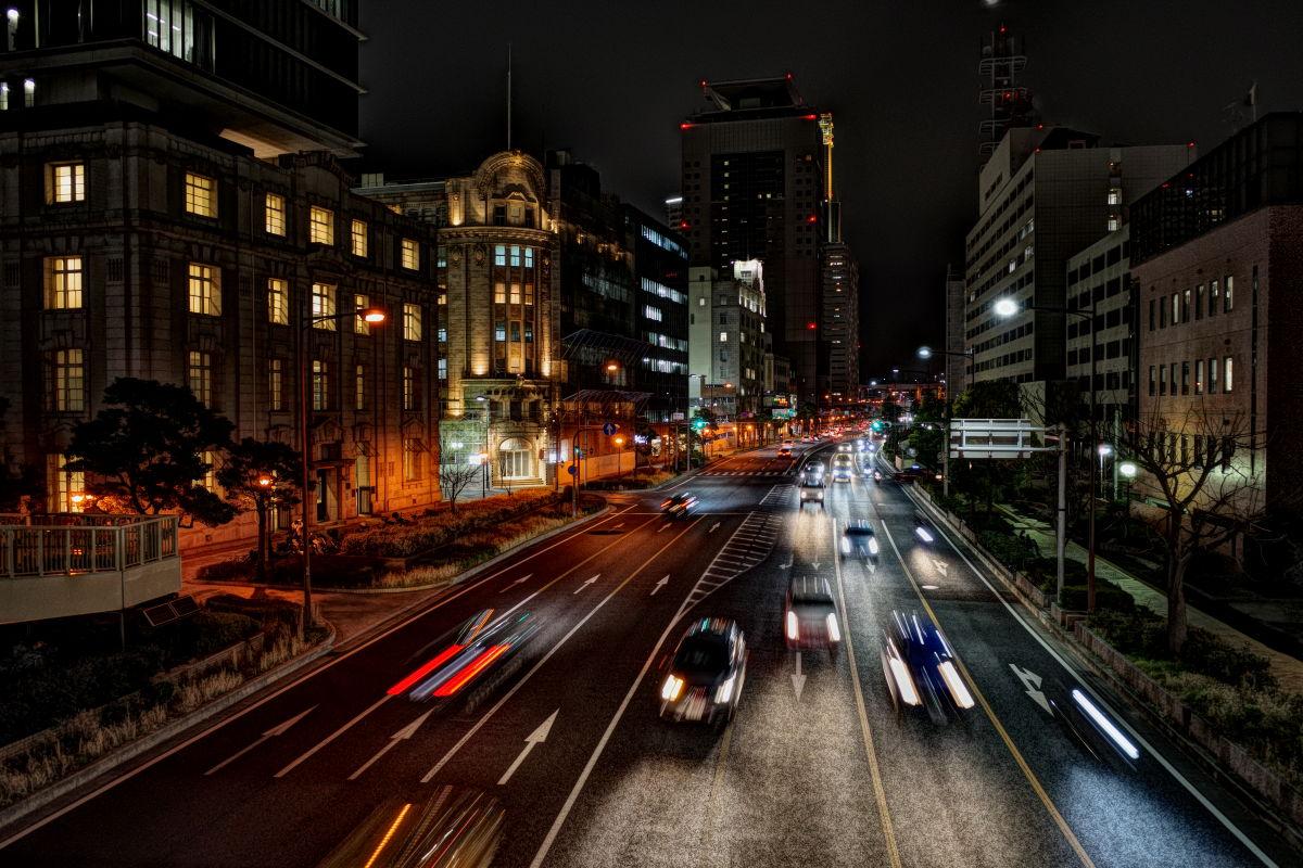 リコーGR3作例写真 夜景