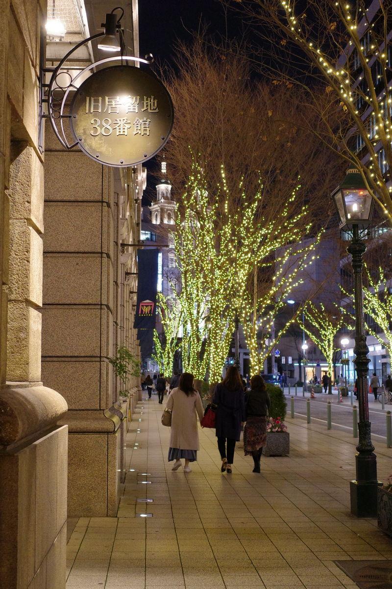 リコーGR3作例写真 ストリートスナップ 夜景