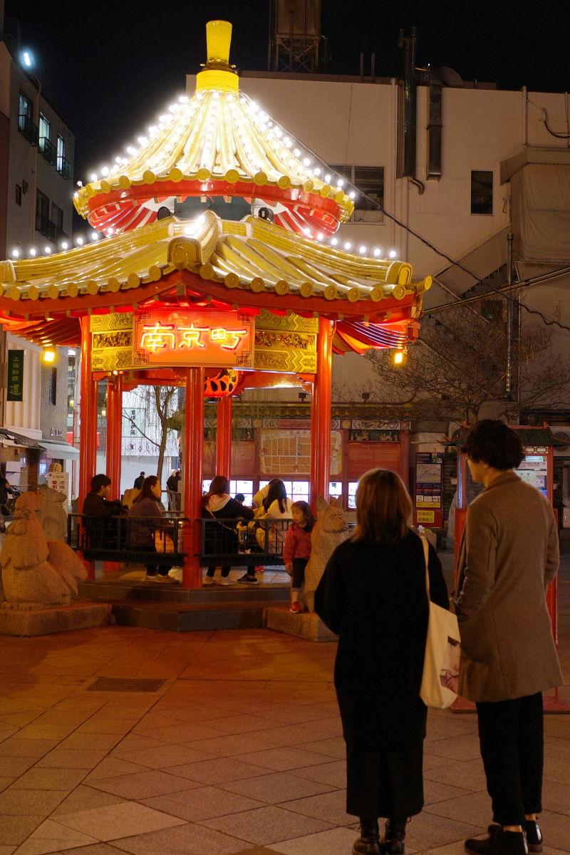 リコーGR3作例写真 南京町 夜景