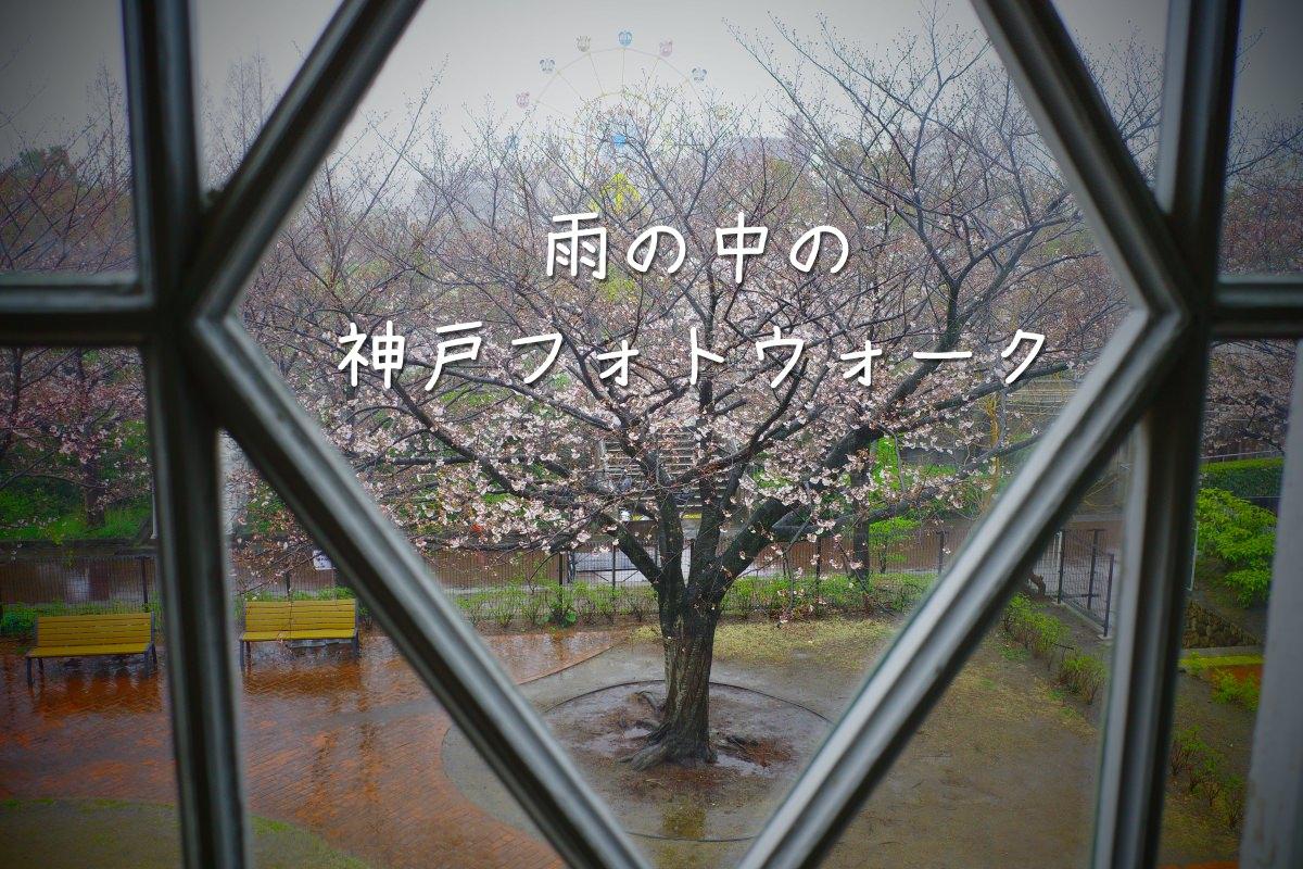 雨の中の神戸フォトウォーク