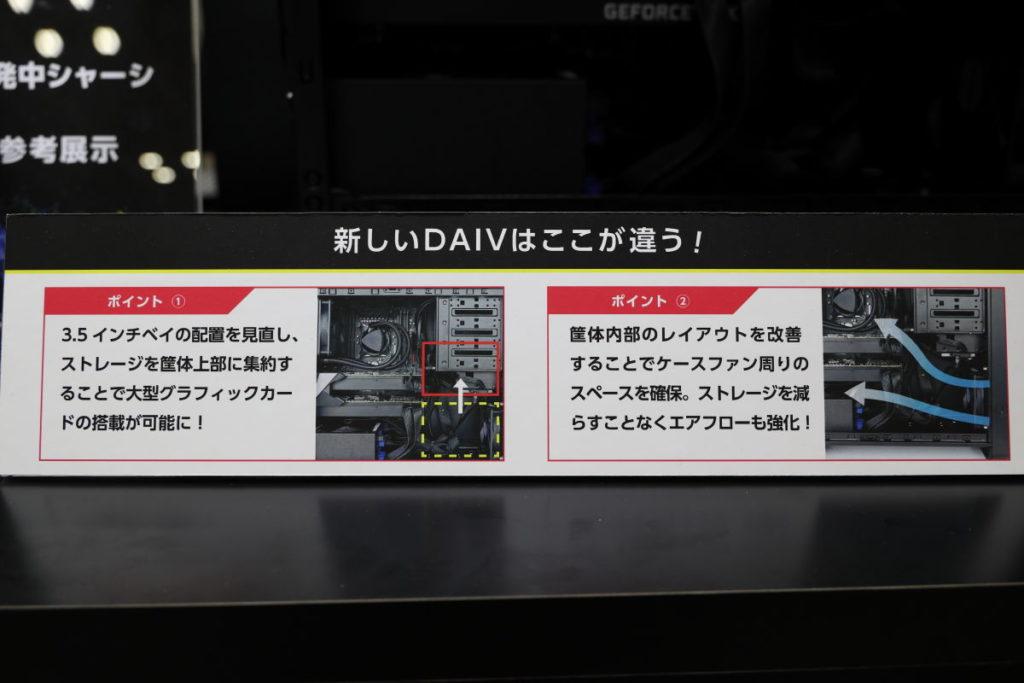DAIV新しいデスクトップケースの特徴 CP+2019にて