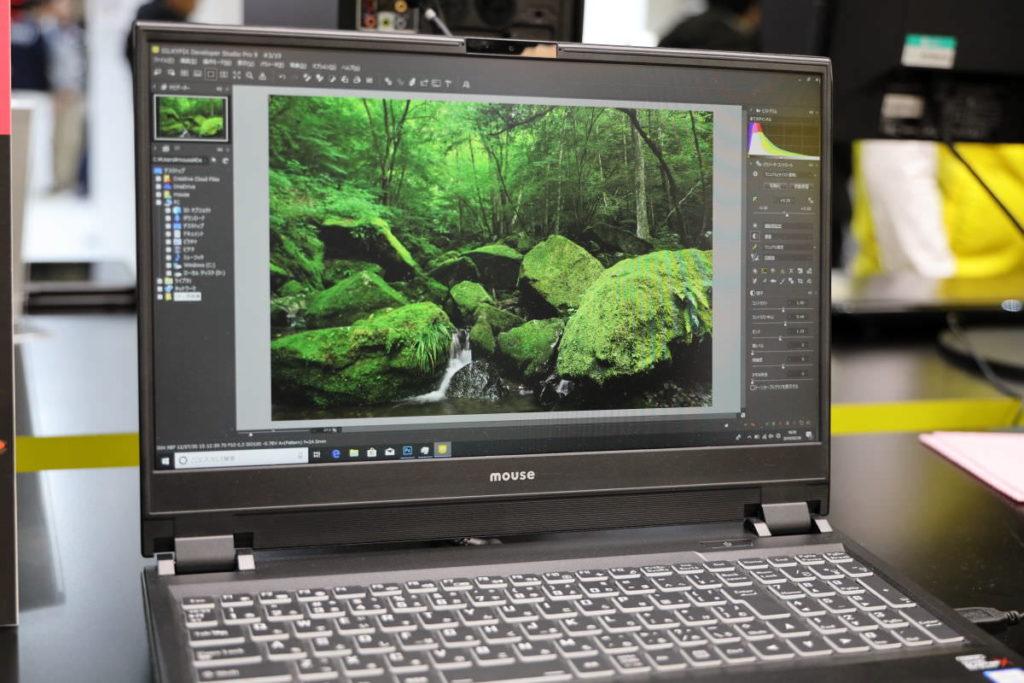 マウスコンピューター DAIV-NG5800 液晶ディスプレイ