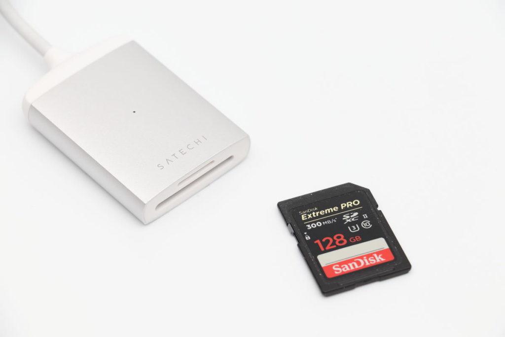 Satechi UHS-II対応SDカードリーダー