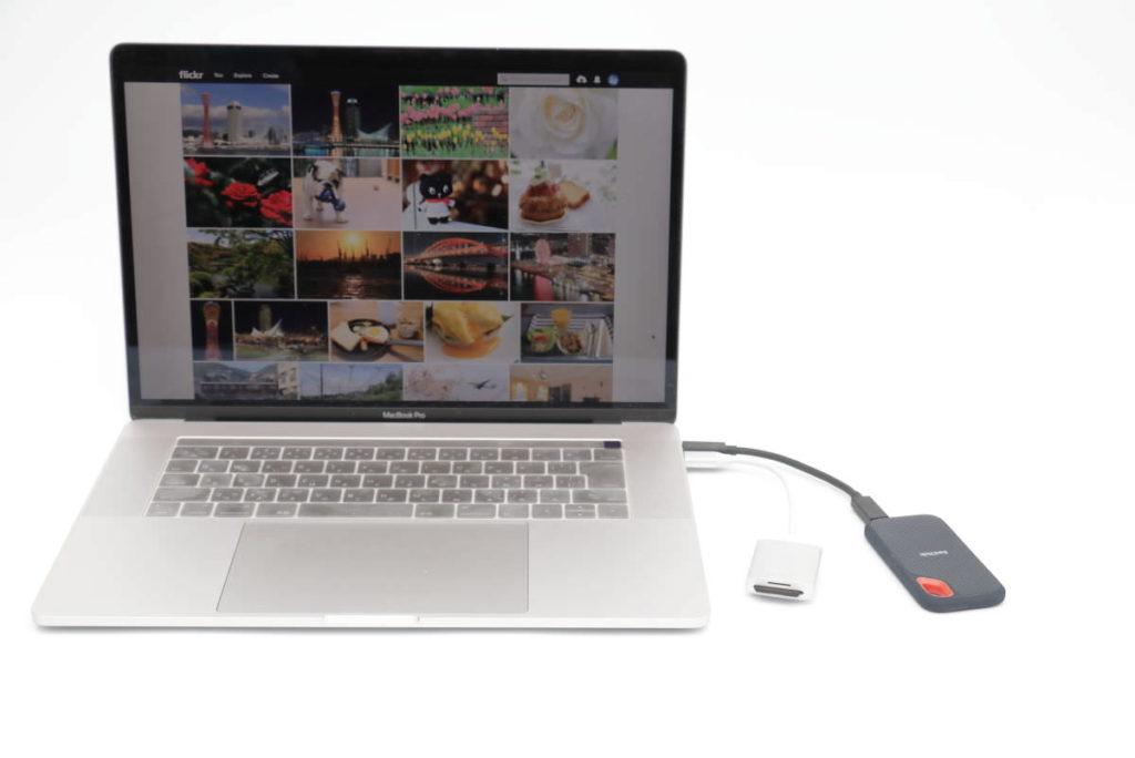 USB-C機器とMacBook Pro