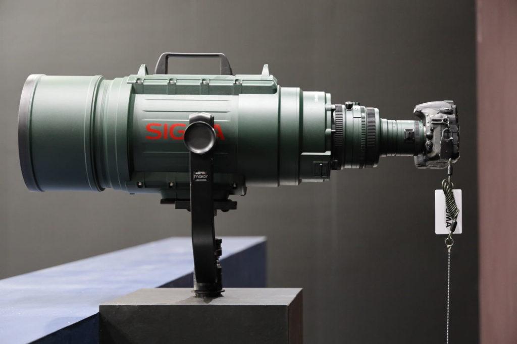 シグマ エビフライ APO 200-500mm F2.8 / 400-1000mm F5.6 EX DG [200-500mm/F2.8