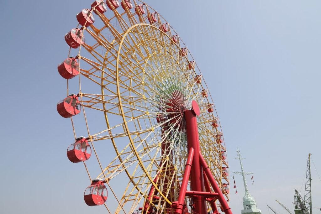 神戸 umieハーバーランドの観覧車