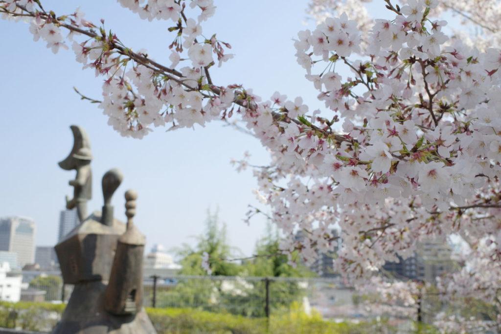 神戸市水の科学博物館 桜 2019年4月8日