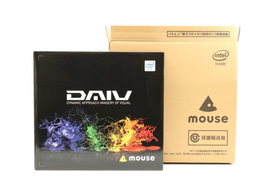 マウスコンピューター DAIV-NG5510の箱