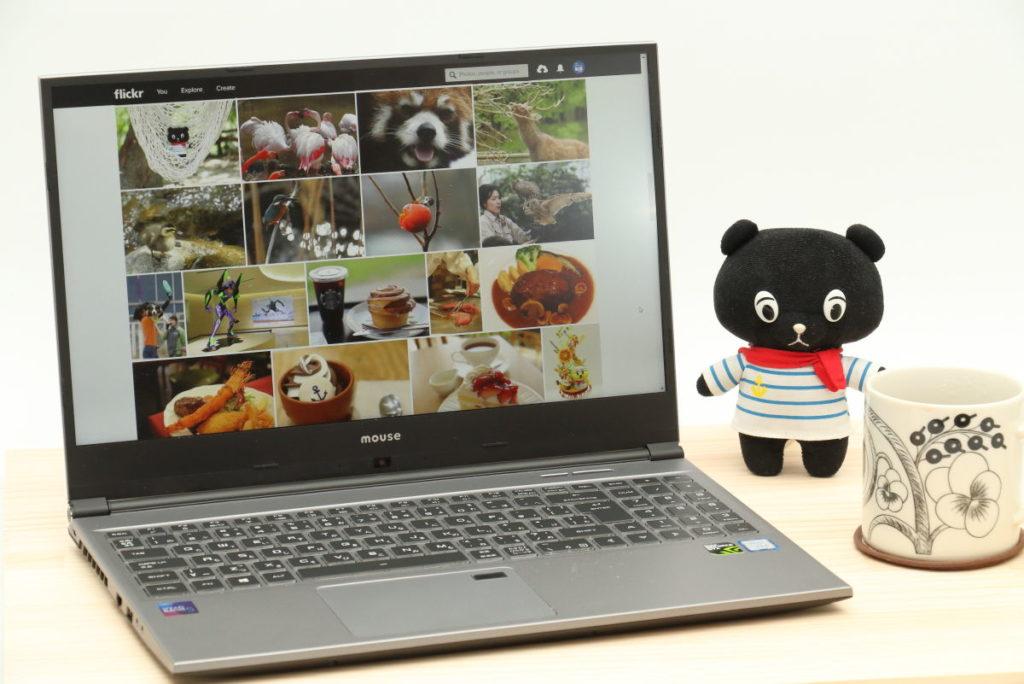 マウスコンピューター クリエイターパソコン DAIV-NG5510使用イメージ