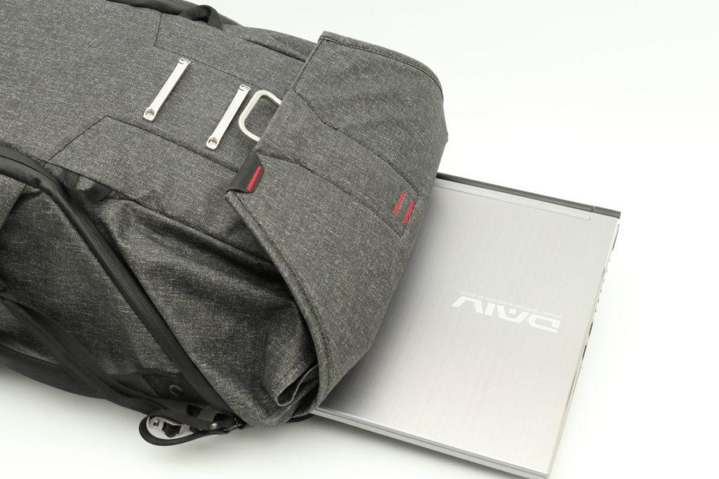 DAIV-NG5510とピークデザインのエブリデイバックパック20L