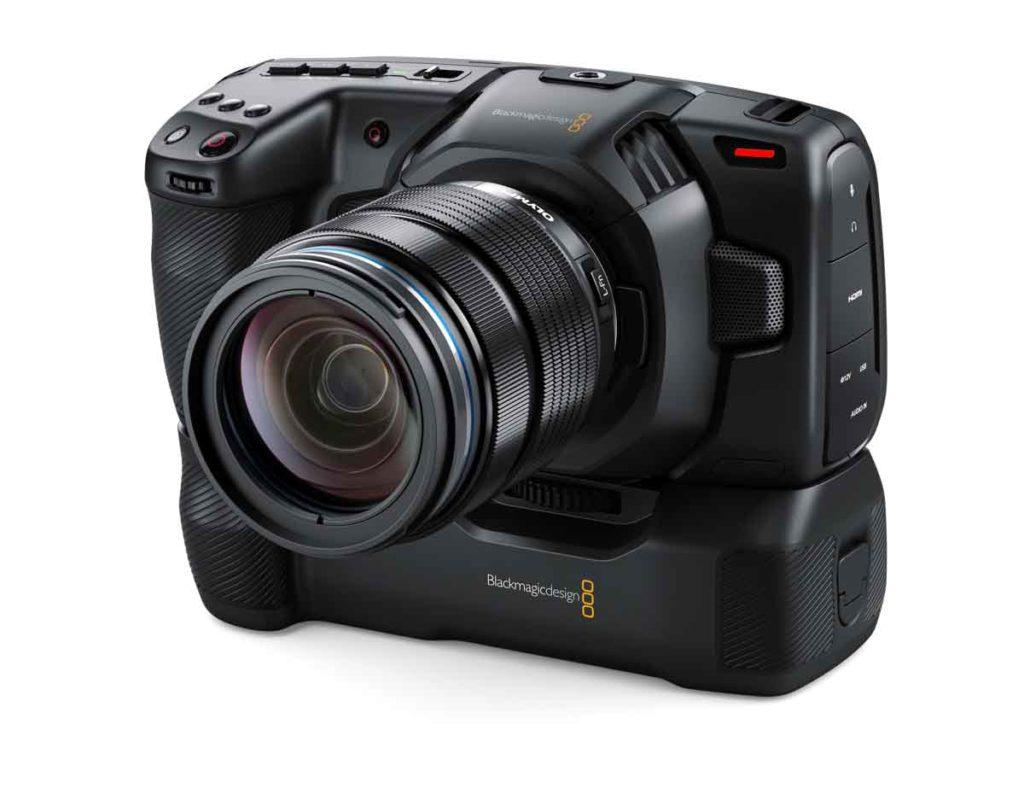 BMPCC4K用バッテリーグリップPocket Camera Battery Grip
