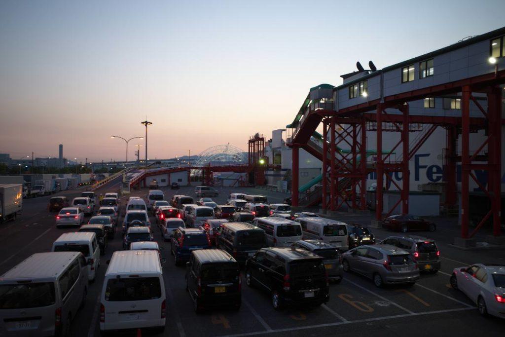 阪九フェリー 神戸港