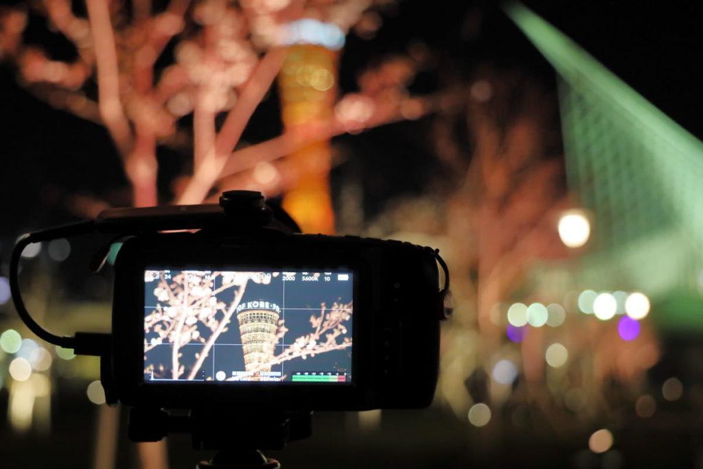 BMPCC4K撮影風景 ポケシネ4Kはモニターが大きい
