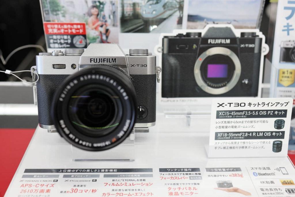 富士フイルム X-T30