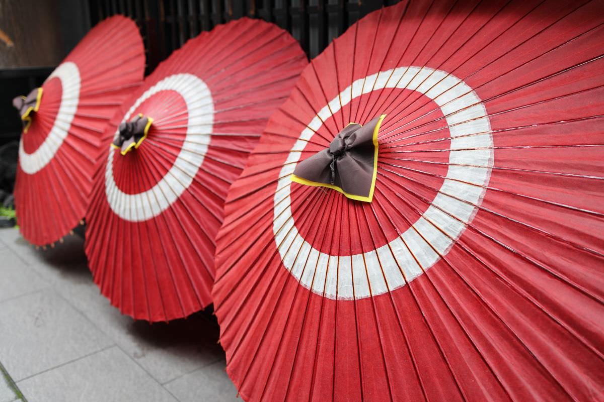 赤い傘 平成最後のフォトウォーク 京都
