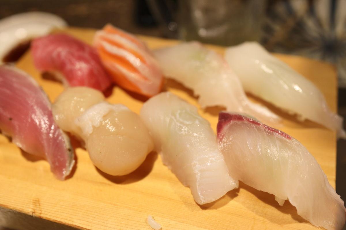 二次会のお寿司