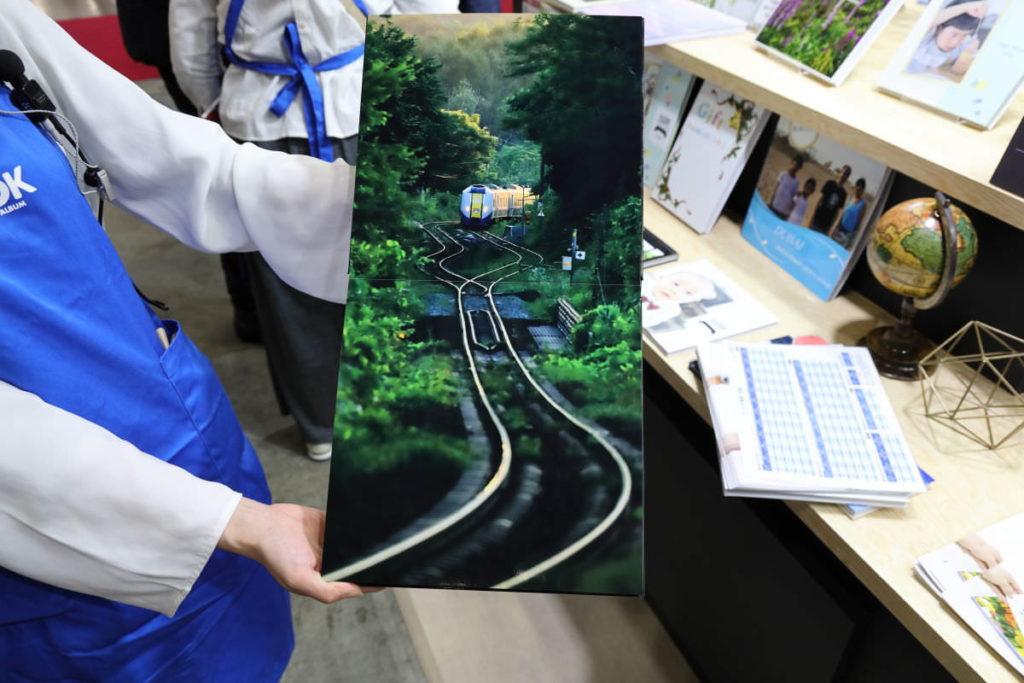 マイブックのフルフラット 長根広和さんのフォトブック Railway