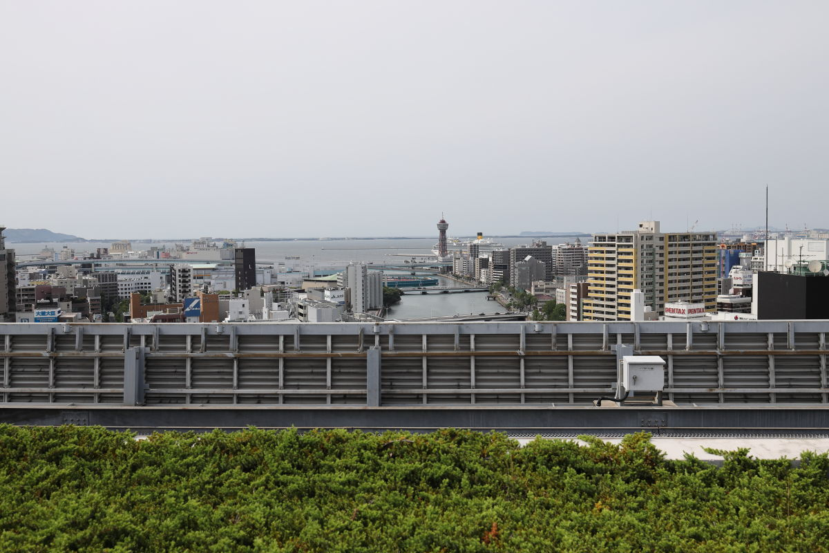 アクロス福岡からの展望