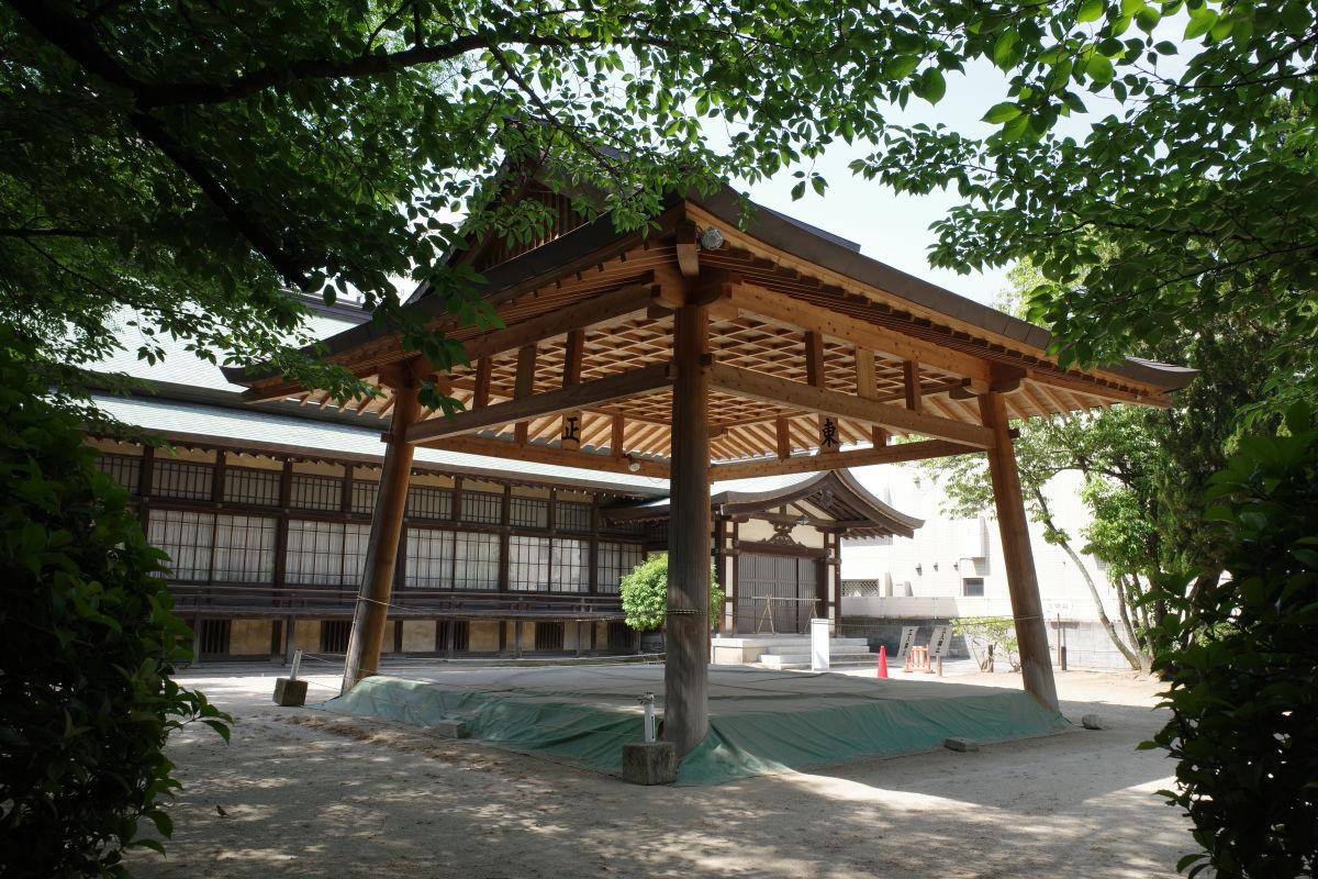 住吉神社の土俵