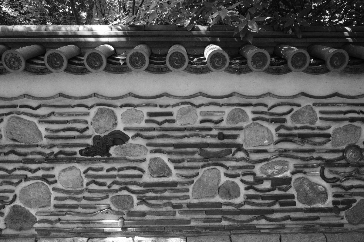モノクロスナップ 楽水園