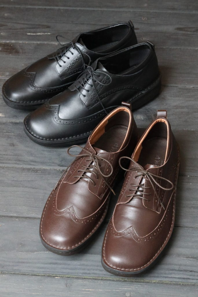 INCHOLJE 紳士用革靴 ウイングチップ