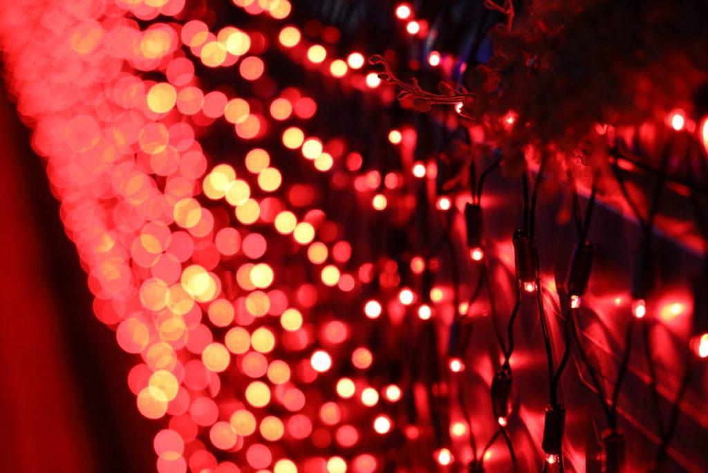 神戸三宮駅南イルミネーション「1,000mの光の回廊~KOBE LIGHT MESSAGE~」corridor1
