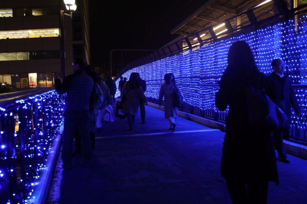 神戸三宮駅南イルミネーション「1,000mの光の回廊~KOBE LIGHT MESSAGE~」corridor3