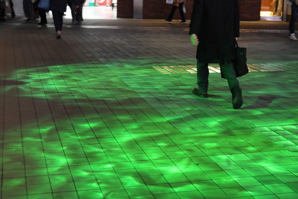 神戸三宮駅南イルミネーション「1,000mの光の回廊~KOBE LIGHT MESSAGE~」corridor4