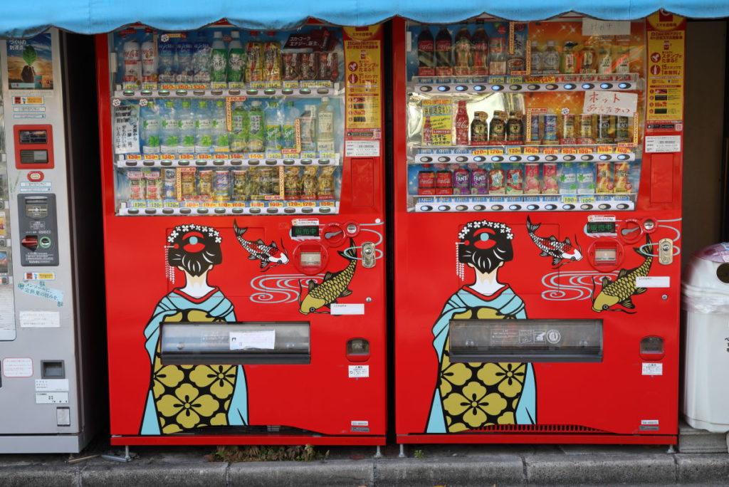 京都の自販機