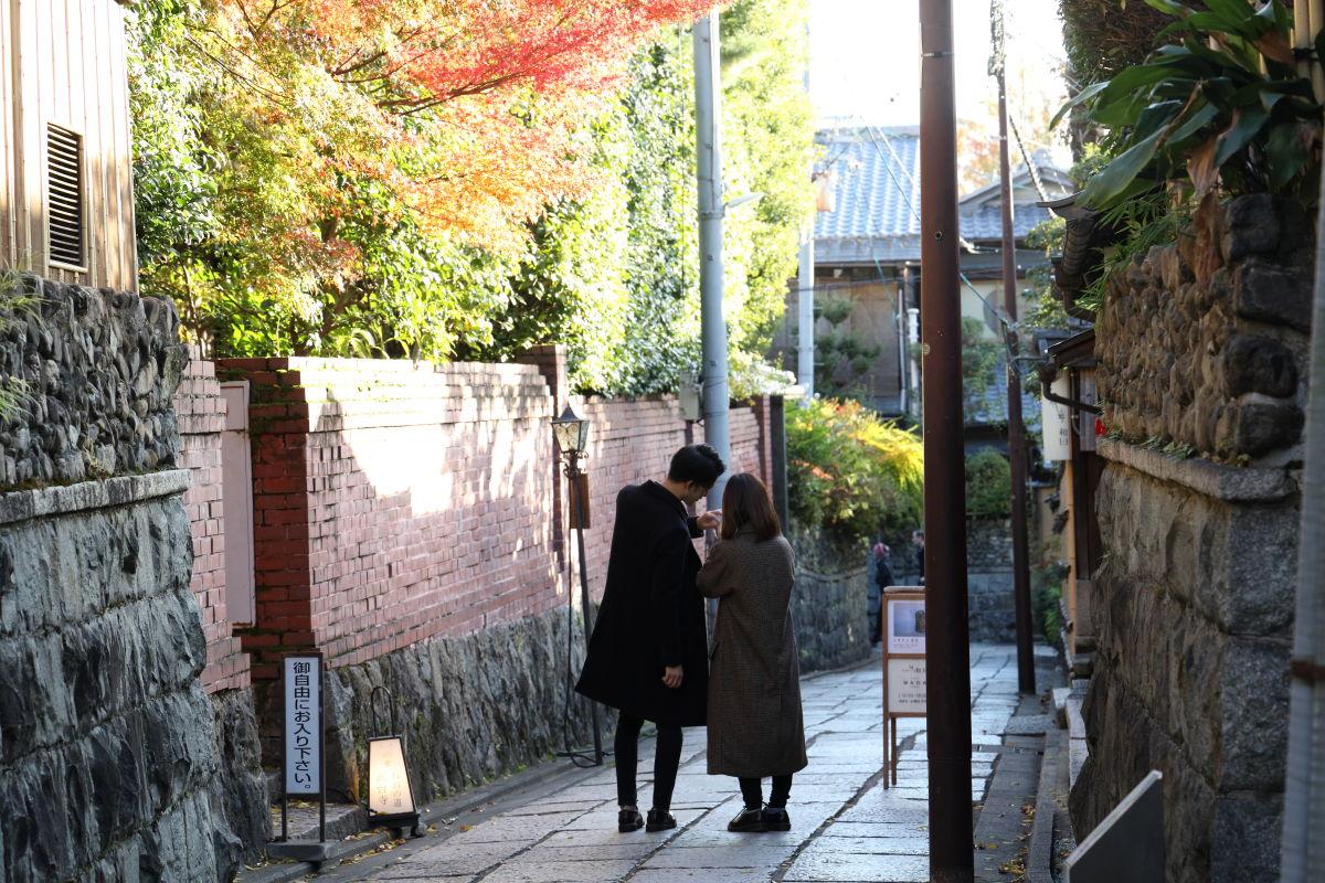 京都の石塀小路