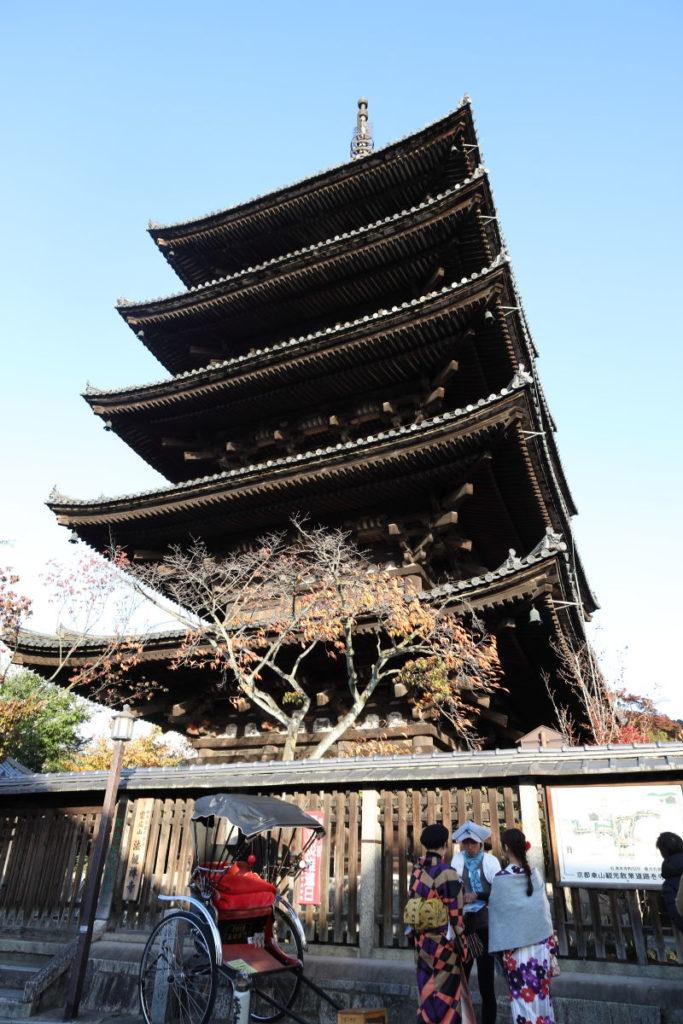 京都 八坂の塔(法観寺)