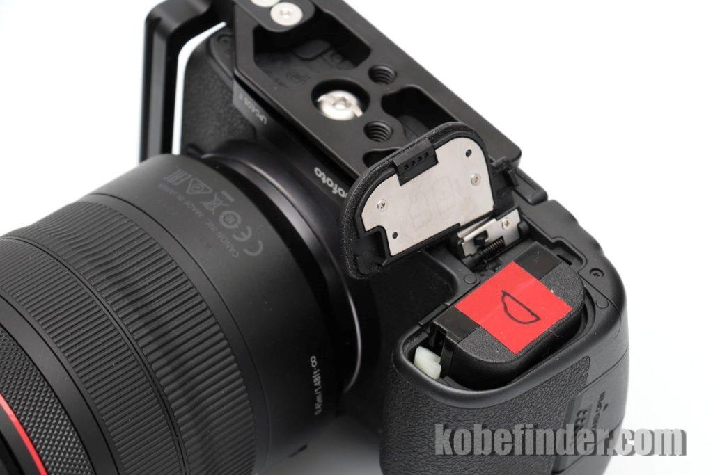 EOS R専用L型ブラケット Leofoto