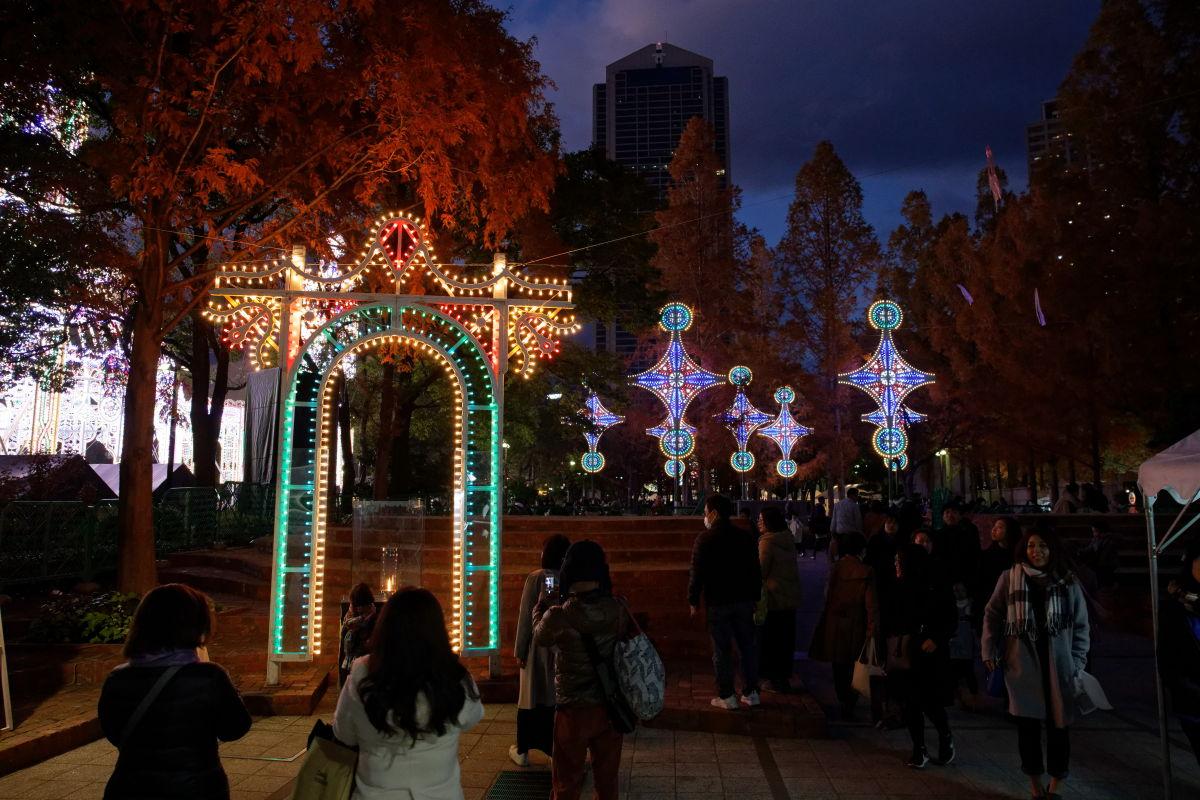 2019年12月8日のルミナリエ 東遊園地