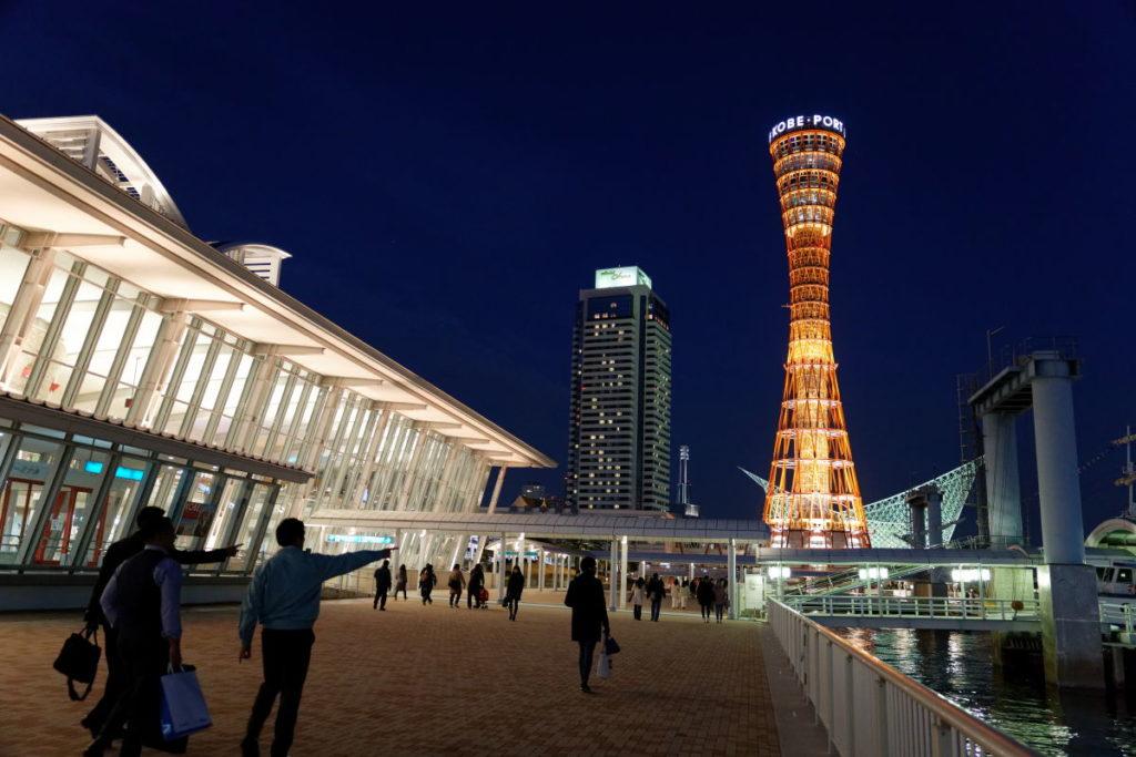 作例写真 神戸の夜景 キヤノンEOS R & RF24-70mm F2.8 L IS USM