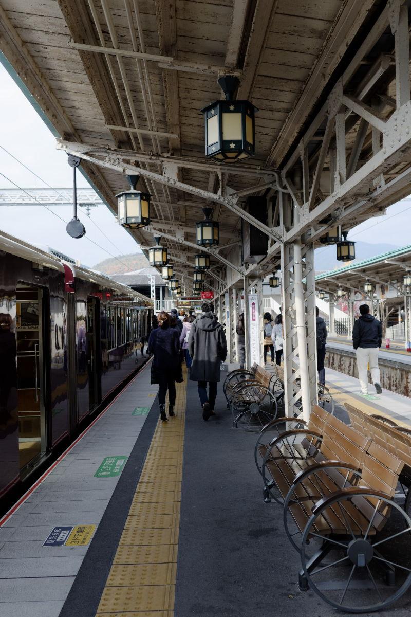 阪急電鉄 嵐山駅