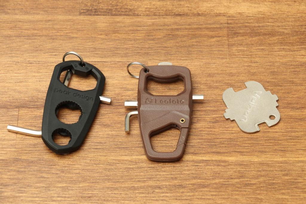 三脚に付属する謎の工具 マルチツール