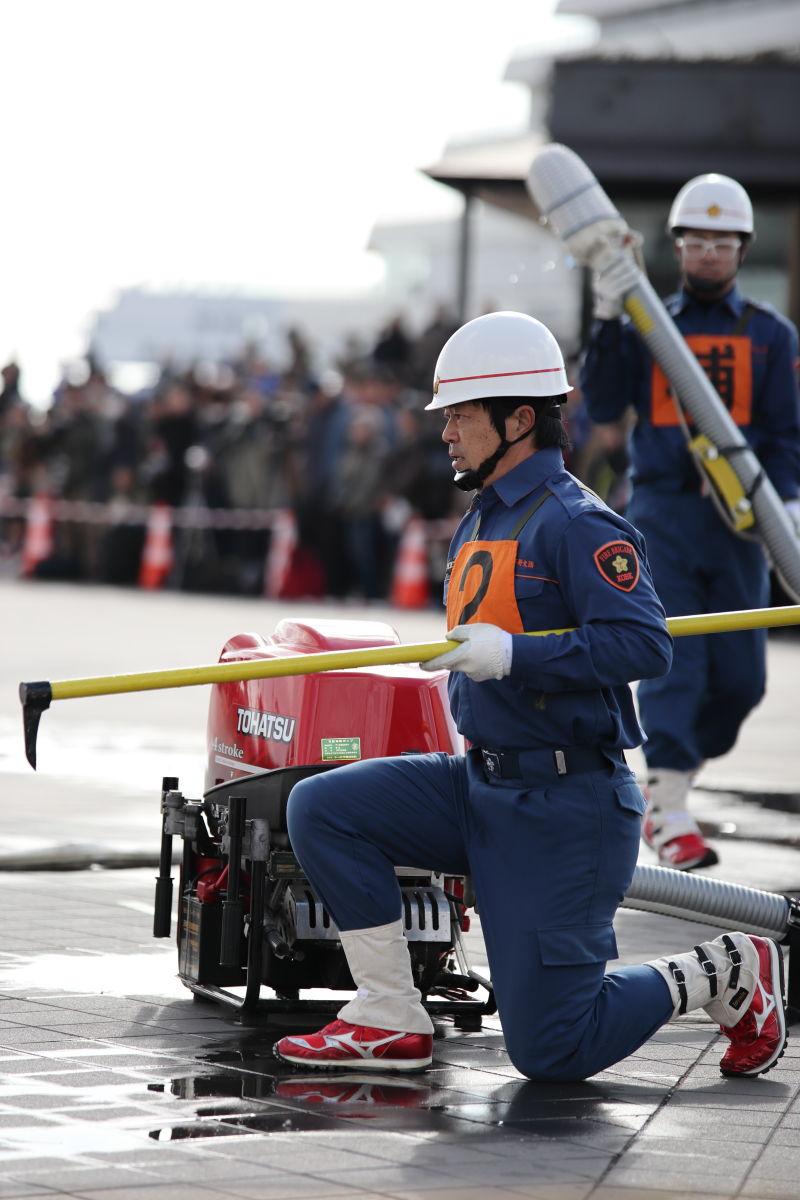 神戸市消防出初式 2020年1月5日